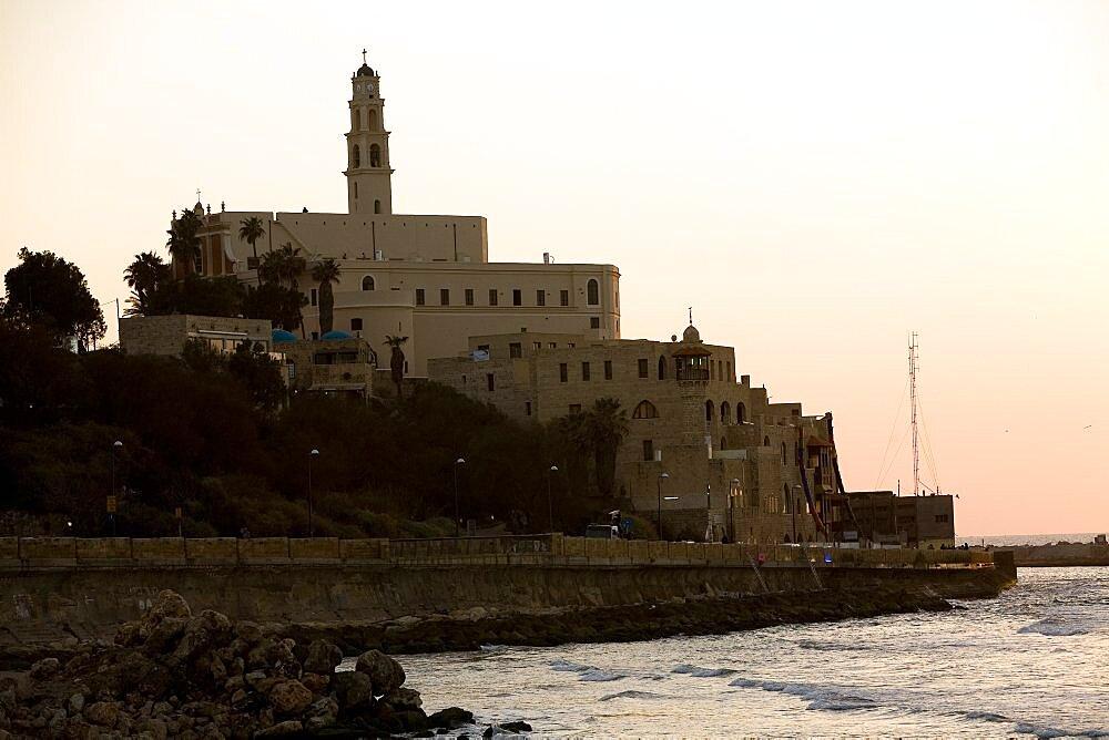 old city of Jaffa at sunset, Israel