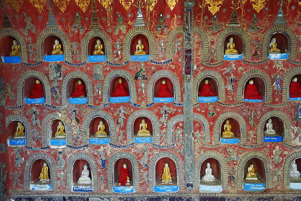 Shweyanpyay monastery, Inle Lake, Shan State, Myanmar (Burma), Asia - 841-1268