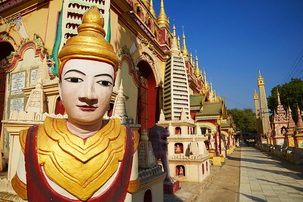 Thanbodhay Pagoda, Monywa, Sagaing Division, Myanmar (Burma), Asia - 841-1304
