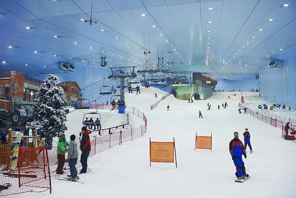 Ski Dubai, Mall of the Emirates Commercial Center, Dubai, United Arab Emirates, Middle East