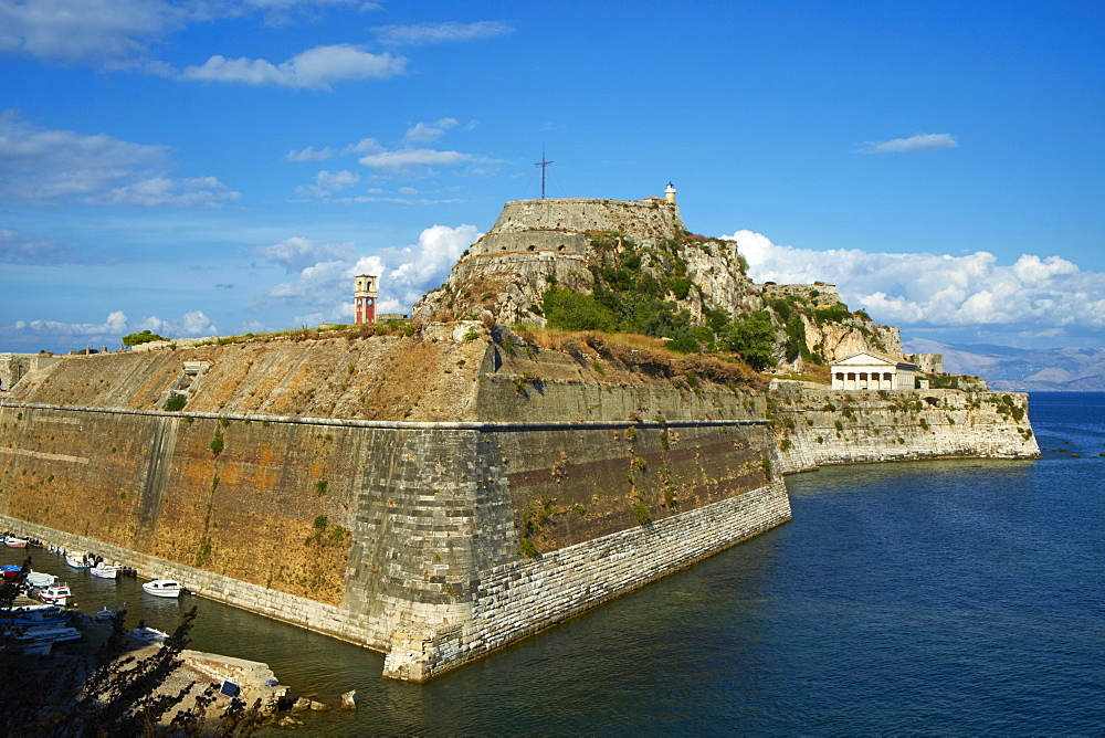 Old Fortress, Kerkyra city, UNESCO World Heritage Site, Corfu, Ionian Islands, Greek Islands, Greece, Europe