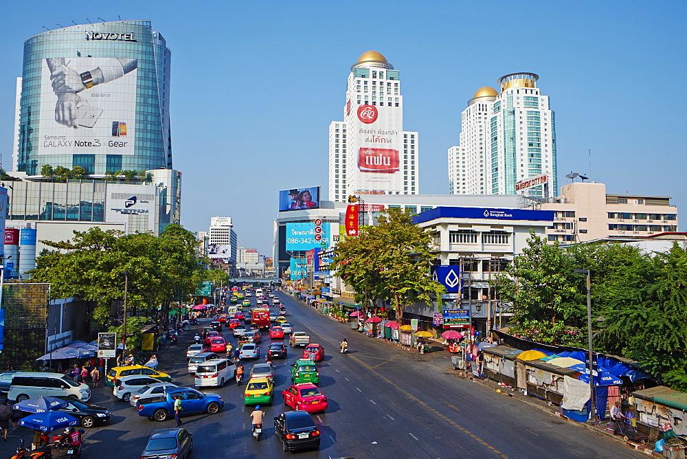 Rajprarop Road, Siam Square area, Bangkok, Thailand, Southeast Asia, Asia - 841-1473