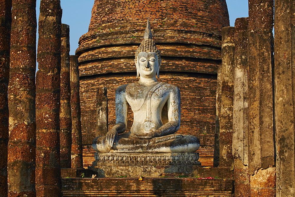 Wat Sa Sri, Sukhothai Historical Park, UNESCO World Heritage Site, Sukhothai, Thailand, Southeast Asia, Asia - 841-1521