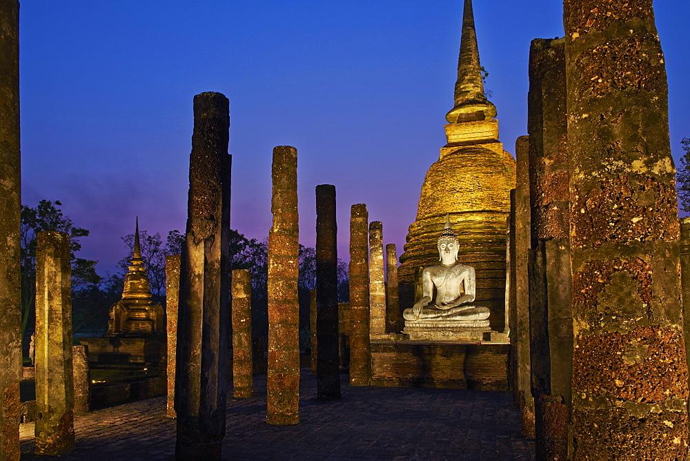 Wat Sa Sri, Sukhothai Historical Park, UNESCO World Heritage Site, Sukhothai, Thailand, Southeast Asia, Asia - 841-1522