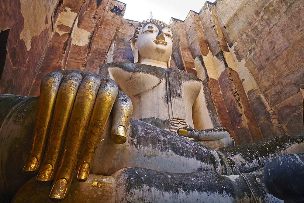 Wat Si Chum, Sukhothai Historical Park, UNESCO World Heritage Site, Sukhothai, Thailand, Southeast Asia, Asia - 841-1527