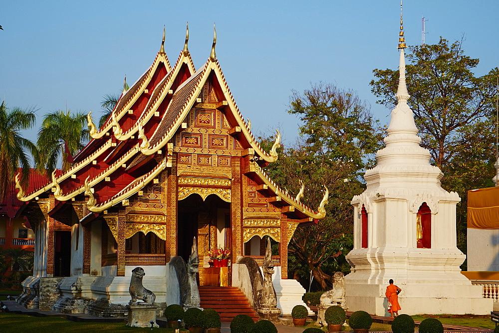 Wat Phra Singh, Chiang Mai, Thailand, Southeast Asia, Asia - 841-1533
