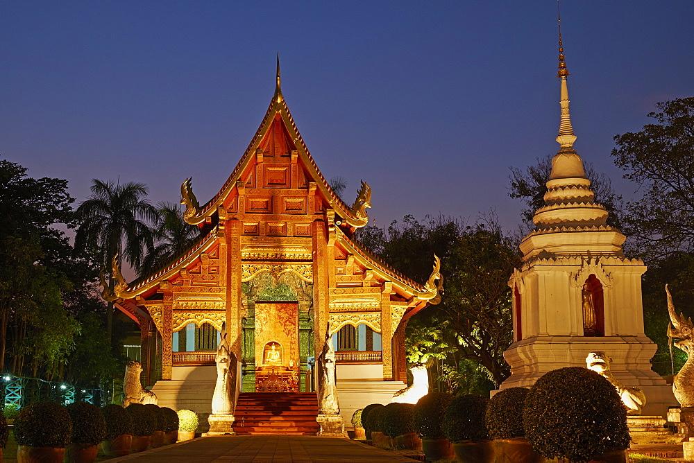 Wat Phra Singh, Chiang Mai, Thailand, Southeast Asia, Asia - 841-1536