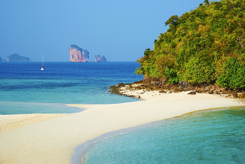 Ao Phra Nang Bay, Ko Tub Island, Krabi Province, Thailand, Southeast Asia, Asia - 841-1558