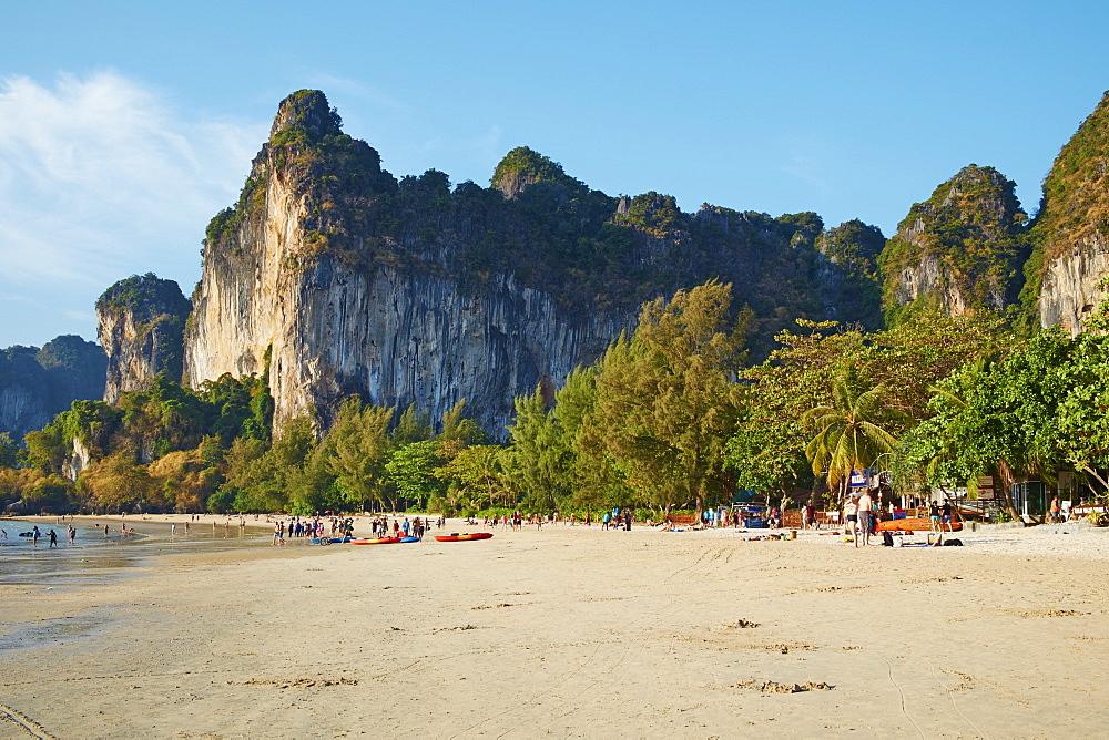Ao Phra Nang Bay, Railay Beach, Tonsay Beach, Krabi Province, Thailand, Southeast Asia, Asia - 841-1564
