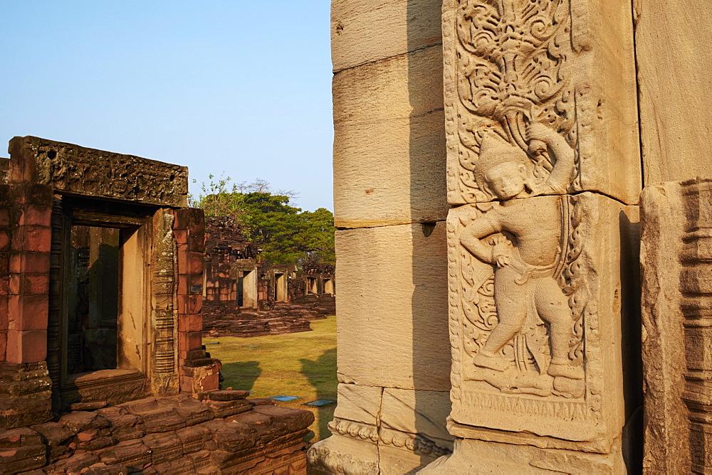 Phimai Khmer Temple, Ratchasima Province, Thailand, Southeast Asia, Asia - 841-1573