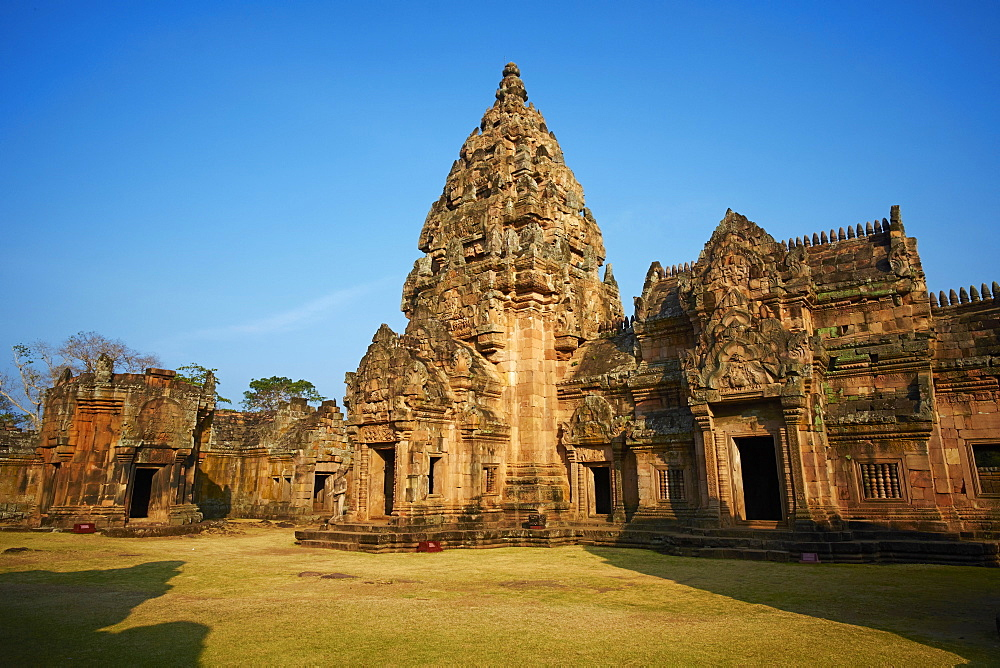 Phanom Rung Temple, Khmer temple from the Angkor period, Buriram Province, Thailand, Southeast Asia, Asia - 841-1575