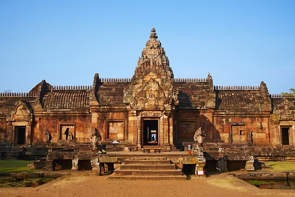 Phanom Rung Temple, Khmer temple from the Angkor period, Buriram Province, Thailand, Southeast Asia, Asia - 841-1577