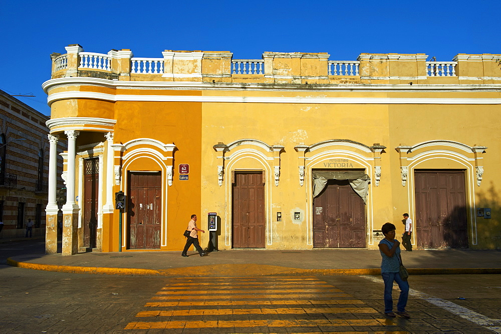 Square of Independence, Merida, the capital of Yucatan state, Mexico, North America