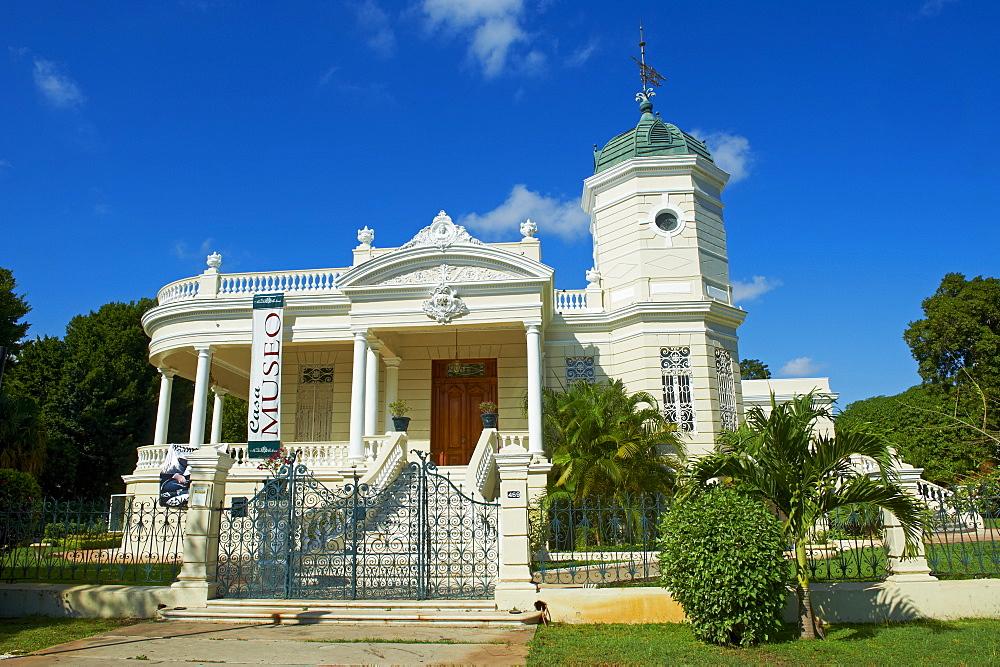 Burgess house, Paseo de Montejo, Merida, Yucatan State, Mexico, North America