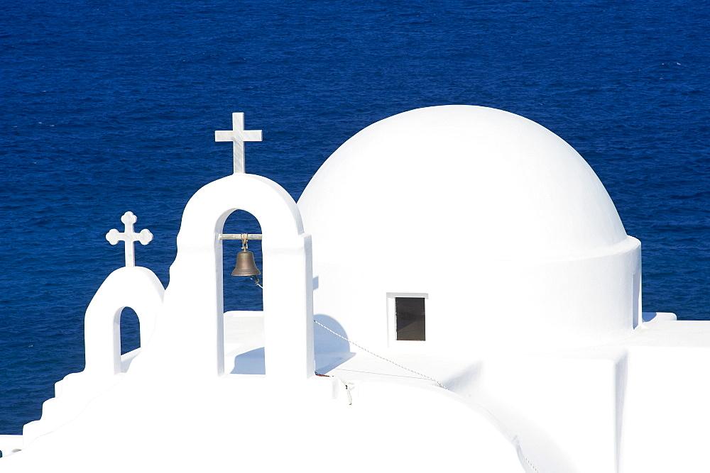 Agios Sostis chapel, Panormos bay, Mykonos island, Cyclades, Greek Islands, Greece, Europe