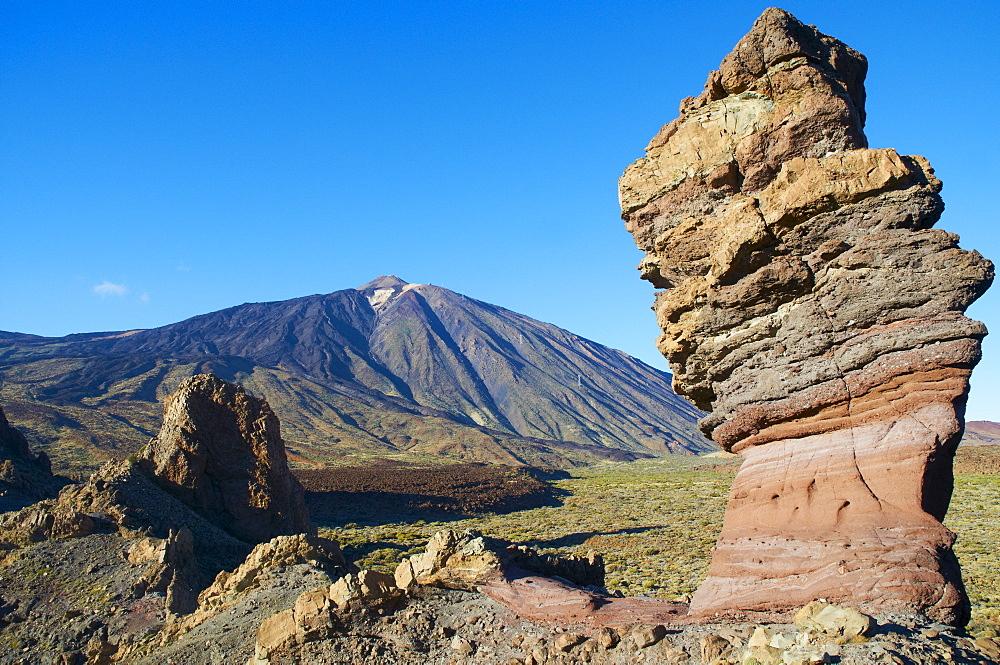 Mount Teide, Teide National Park, UNESCO World Heritage Site, Tenerife, Canary Islands, Spain, Europe