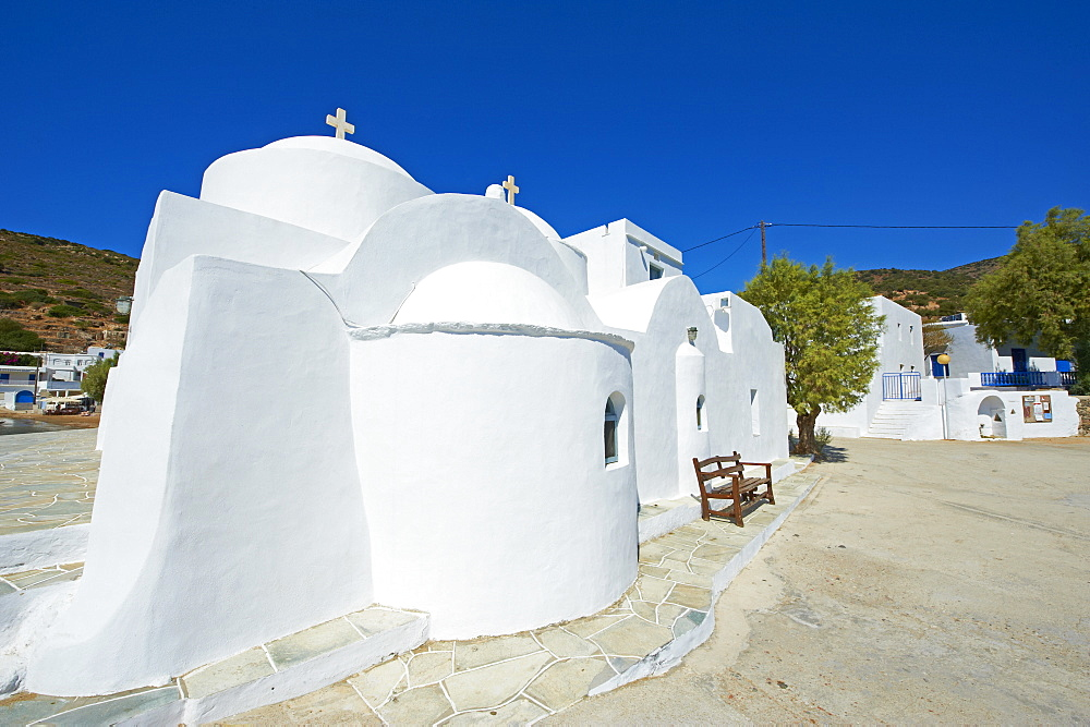 Monastery of Taxiarques, Vathi, Sifnos, Cyclades Islands, Greek Islands, Greece, Europe