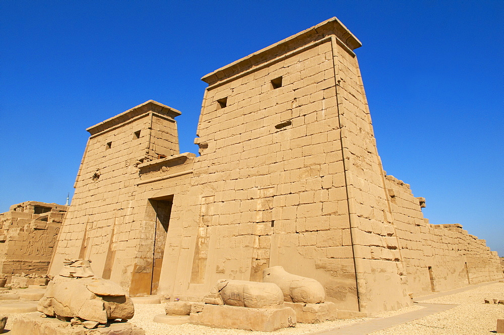 Temple of Amun, Karnak, Thebes, UNESCO World Heritage Site, Egypt, North Africa, Africa