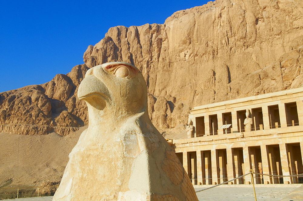 Temple of Hatshepsut, Deir el Bahari, Thebes, UNESCO World Heritage Site, Egypt, North Africa, Africa