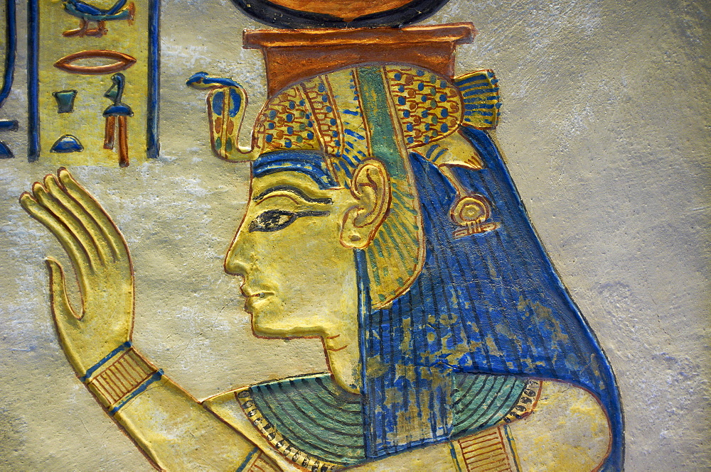 Amun her Khepeshef tomb, West Bank of the River Nile, Thebes, UNESCO World Heritage Site, Egypt, North Africa, Africa