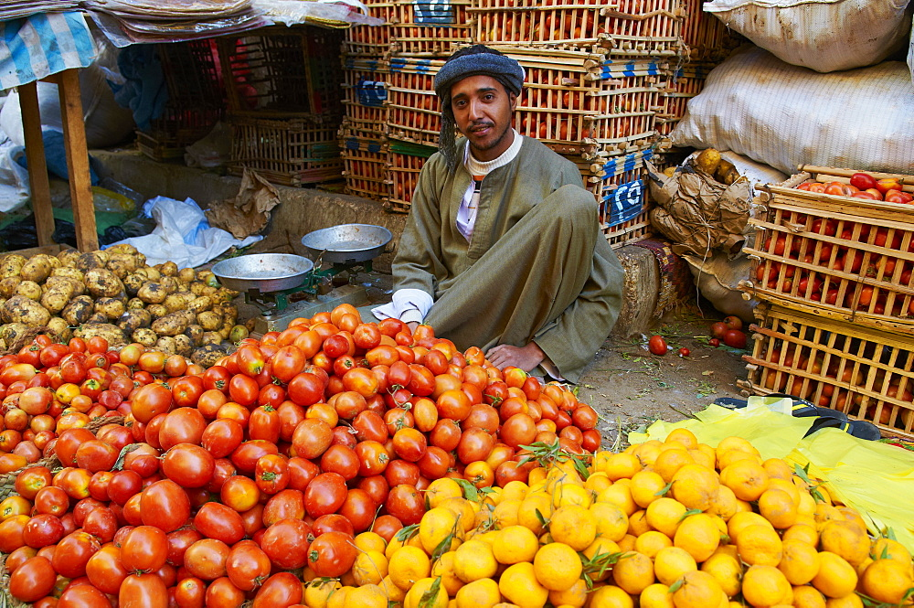 Market of Aswan, Egypt, North Africa, Africa