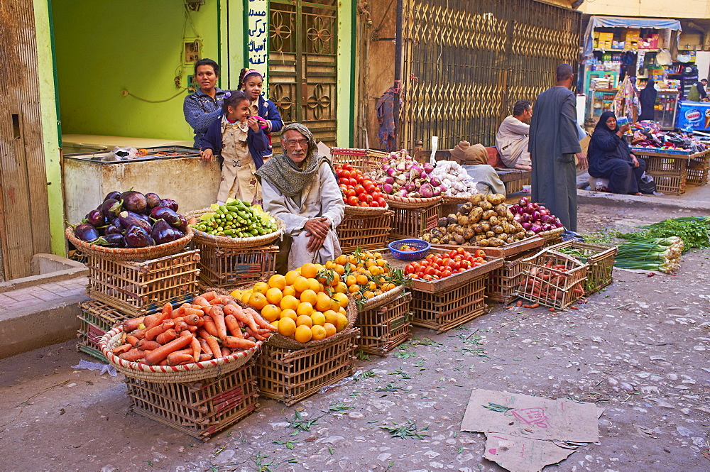 Market, Aswan, Egypt, North Africa, Africa
