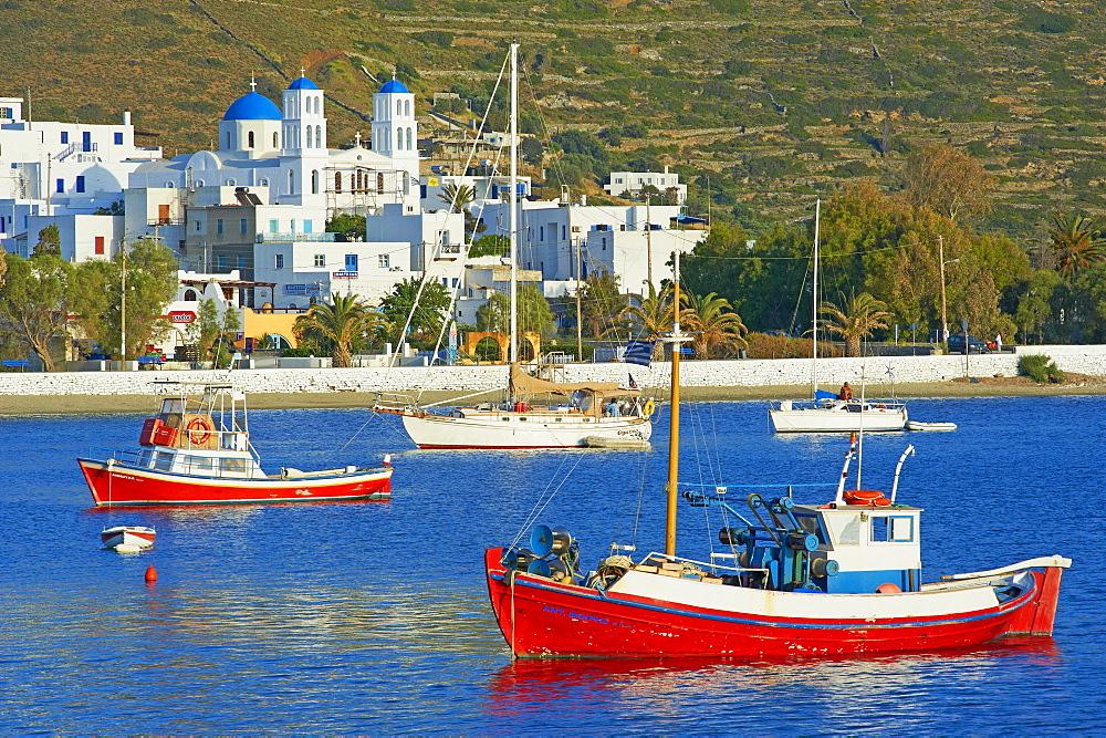 Katapola port, Amorgos, Cyclades, Aegean, Greek Islands, Greece, Europe - 841-935