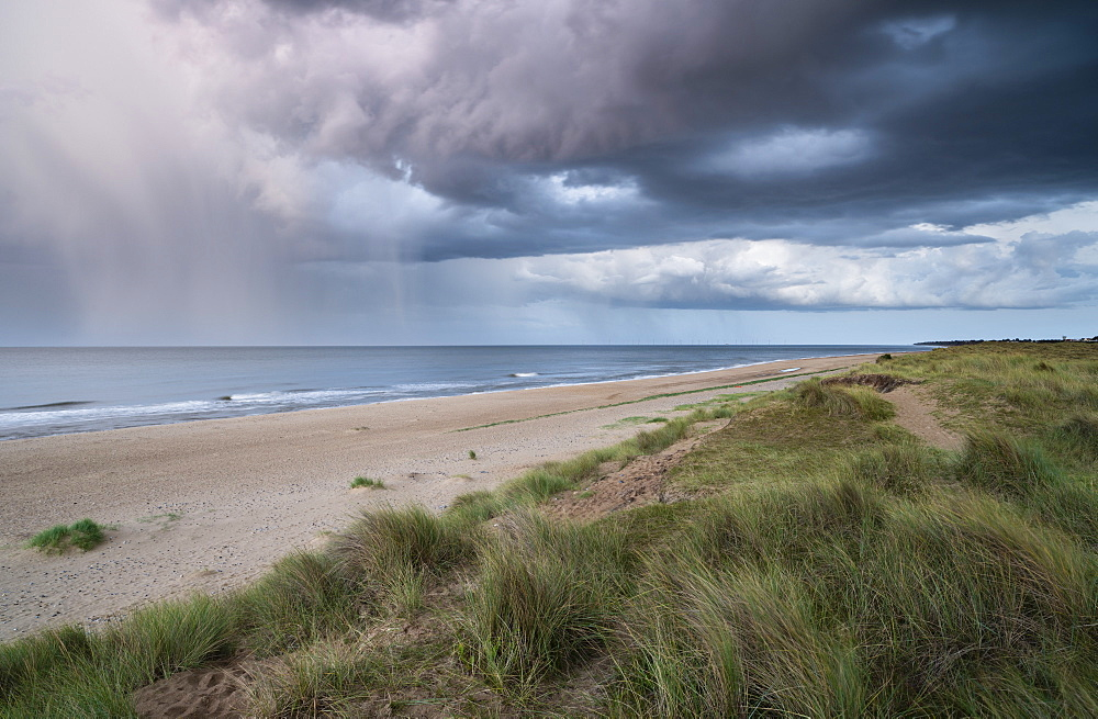 A view of Winterton on Sea, Norfolk, England, United Kingdom, Europe
