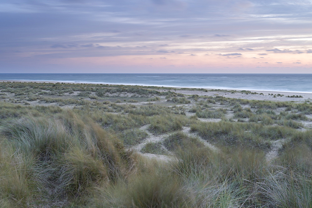 The dunes and beach at Winterton on Sea, Norfolk, England, United Kingdom, Europe