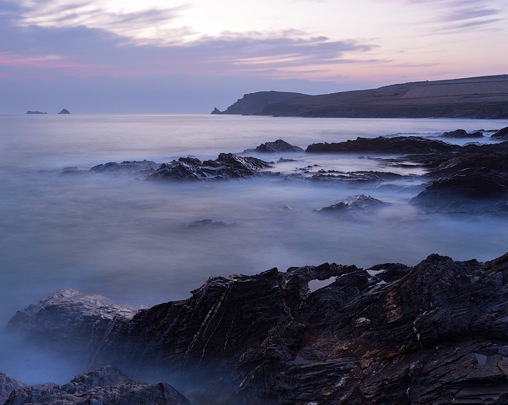 Coastal scene from Boobys Bay, Cornwall, England, United Kingdom, Europe - 842-549