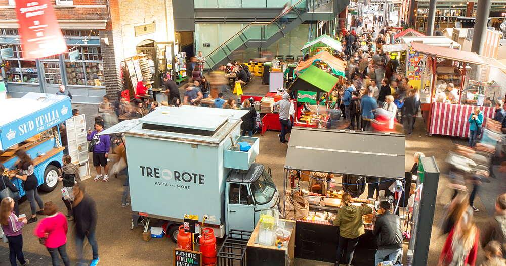 Old Spitalfields Indoor Market, London, England, United Kingdom, Europe