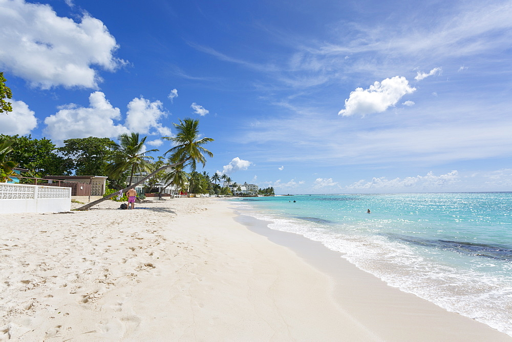 Worthing Beach, Christ Church, Barbados, West Indies, Caribbean, Central America
