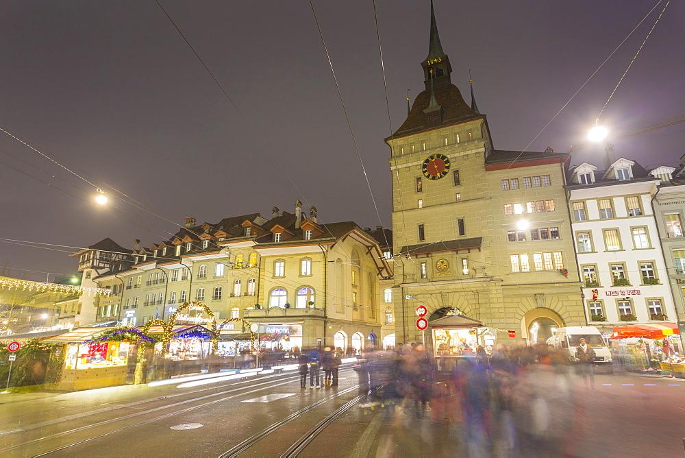 Barenplatz, Bern, Jungfrau region, Bernese Oberland, Swiss Alps, Switzerland, Europe