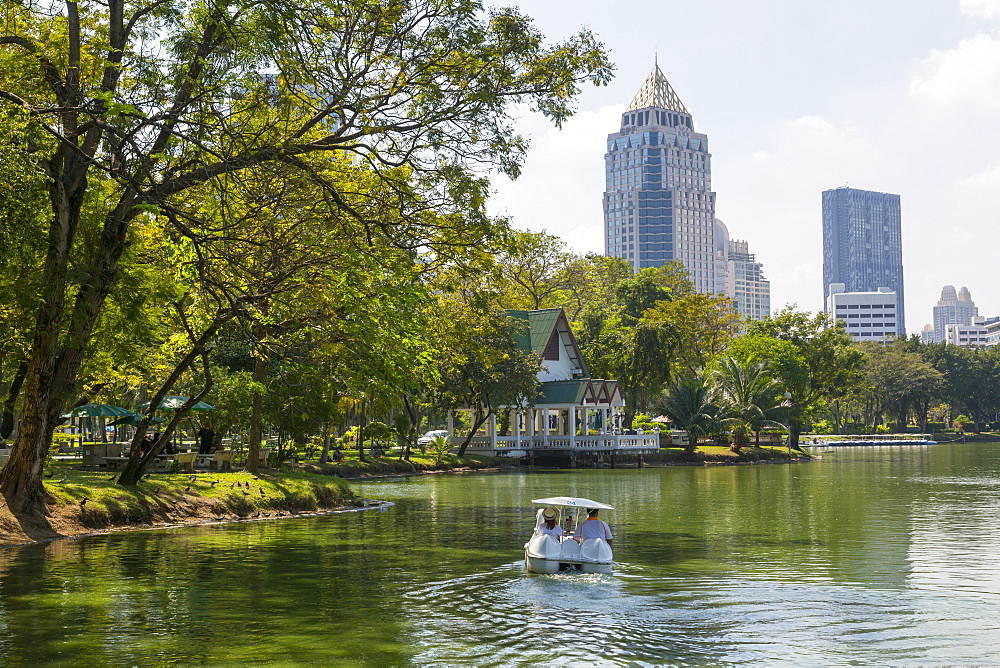Lumphini Park, Ratchadamri Road, Bangkok, Thailand, Southeast Asia, Asia
