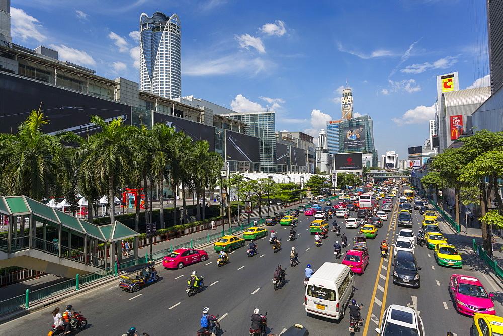 Ratchadamri Road, Bangkok, Thailand, Southeast Asia, Asia