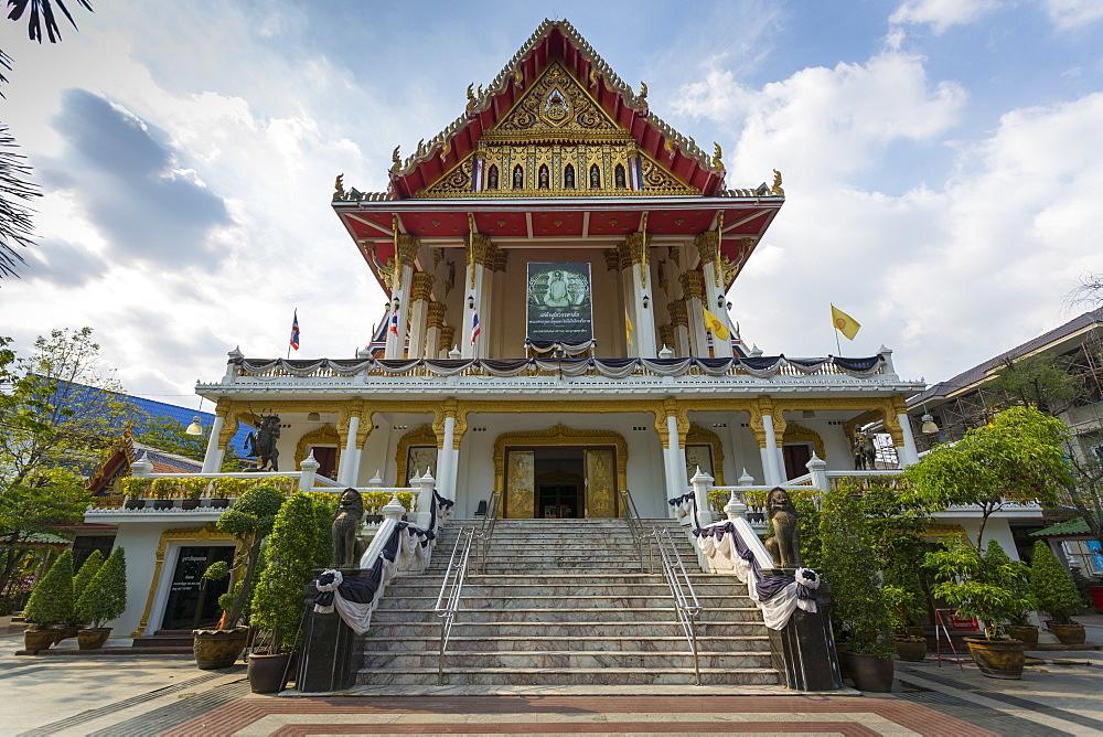 Wat Samphandhawongs, Bangkok, Thailand, Southeast Asia, Asia