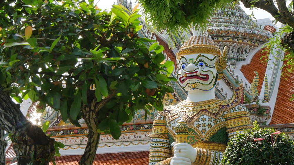 Riverside Temple of Wat Arun, Temple of Dawn, Bangkok, Thailand, South Asia, Asia