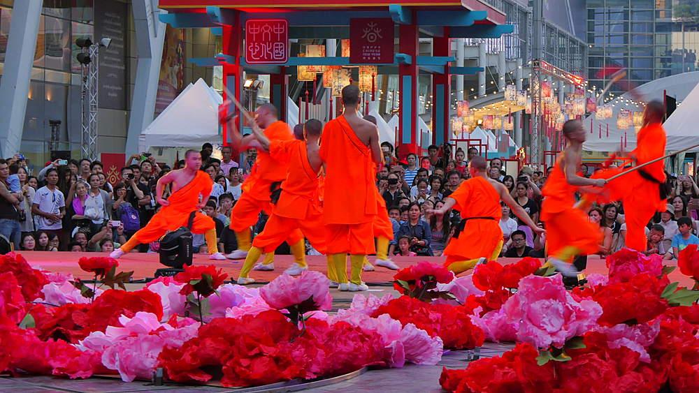 Chinese New Year Celebrations at Central World, Bangkok, Thailand, South Asia, Asia