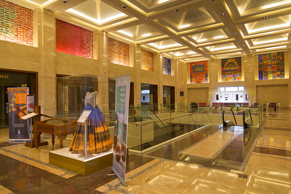 Interior view of Muscat Opera Gallery, Muscat, Oman, Middle East