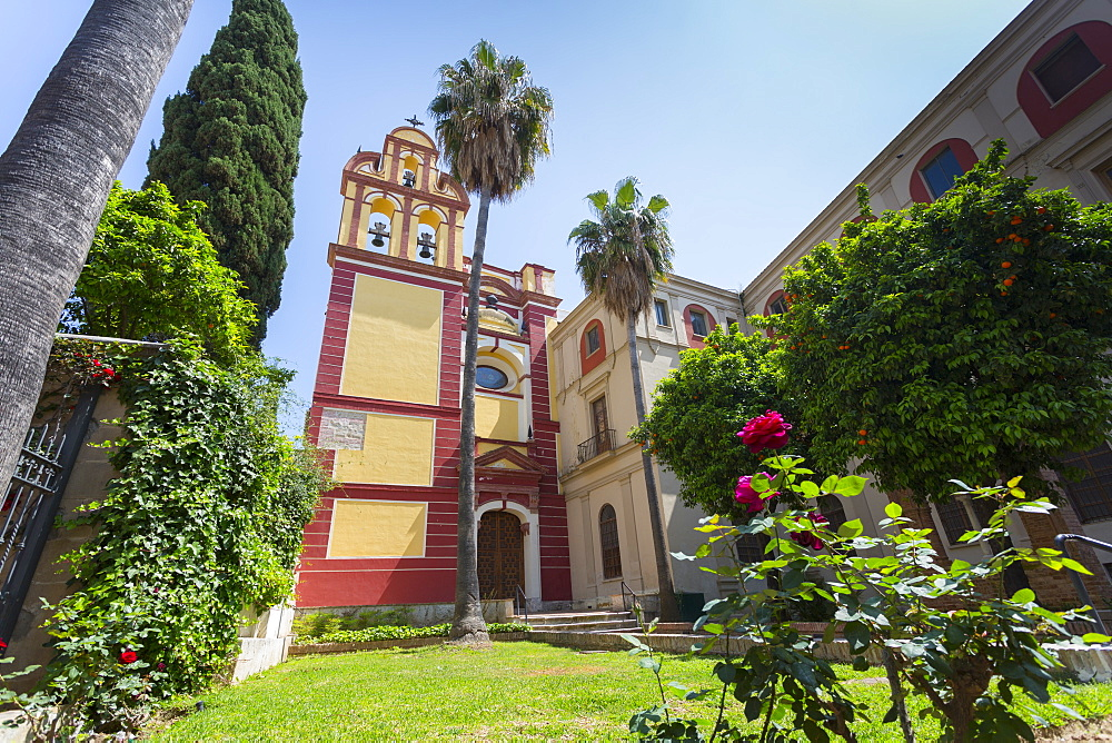 Church of St. Augustine (Augustinian Fathers) Iglesia de San Agustin (Padres Agustinos), Malaga, Costa del Sol, Andalusia, Spain, Europe