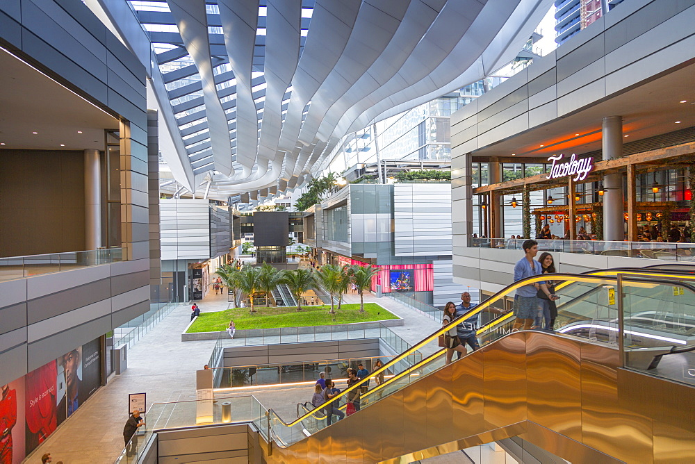 Interior of Brickell City Centre shopping mall in Downtown Miami, Miami, Florida, United States of America, North America