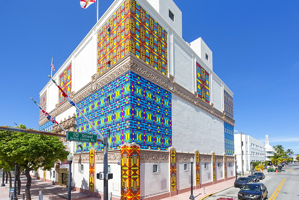 The Wolfsonian-Florida International University on Washington Avenue, South Beach, Miami, Florida, United States of America, North America