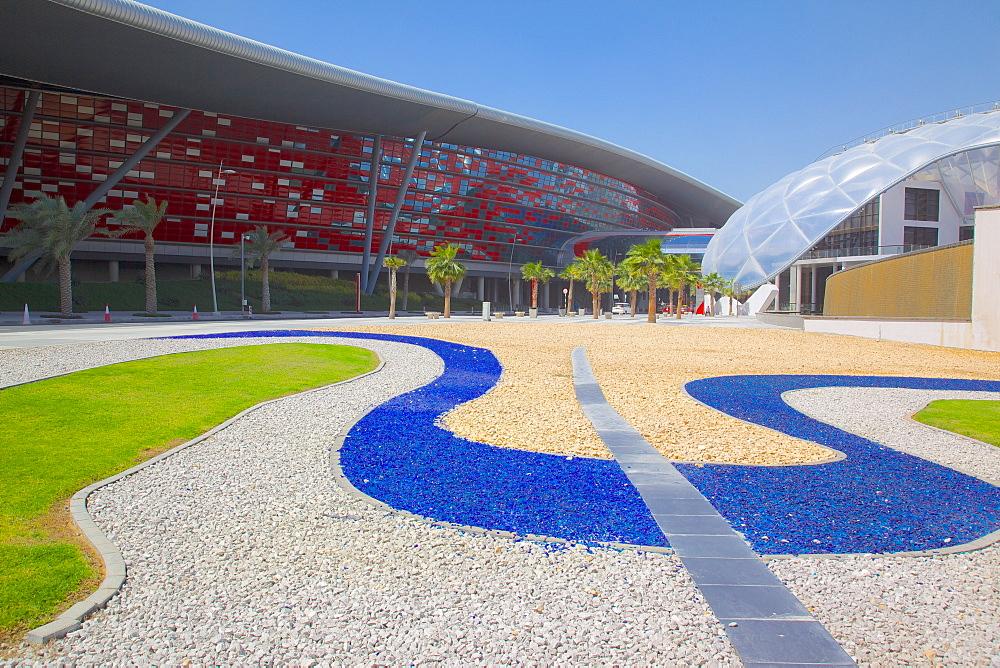 Ferrari World, Yas Island, Abu Dhabi, United Arab Emirates, Middle East