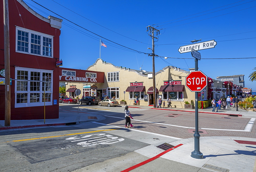 Cannery Row, Monterey Bay, Peninsula, Monterey, California, United States of America, North America - 844-16940