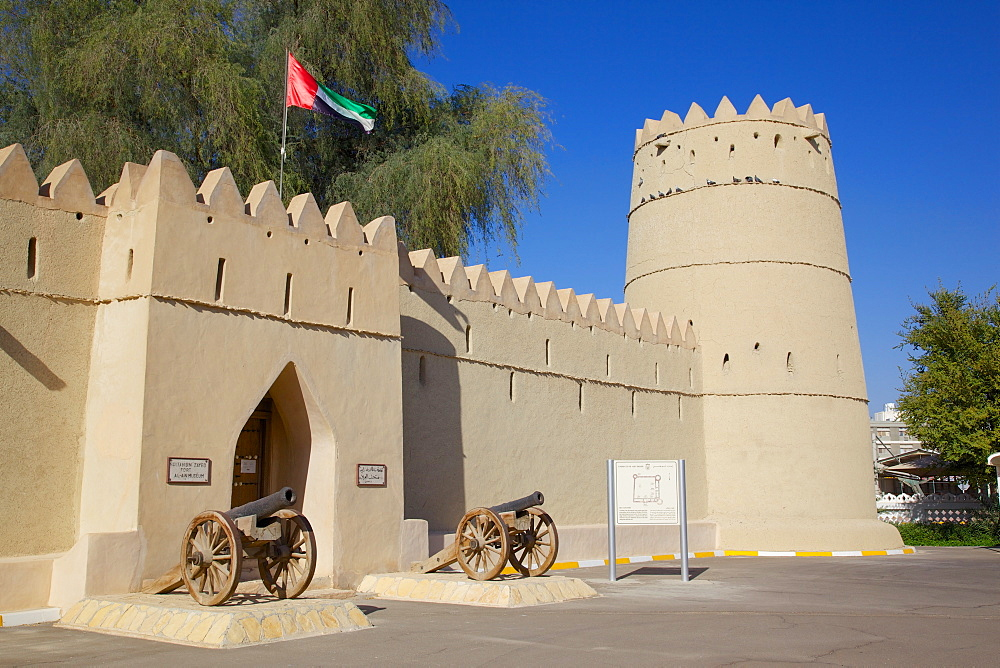 Sultan Bin Zayed Fort, now the Al-Ain Museum, Al Ain, Abu Dhabi, United Arab Emirates, Middle East