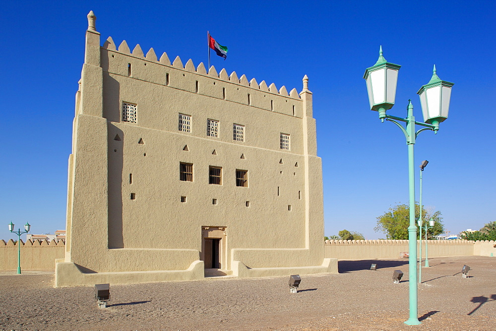 Al Murabbaa Heritage Fort, Al Ain, Abu Dhabi, United Arab Emirates, Middle East