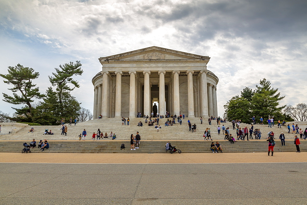 View of Thomas Jefferson Memorial, Washington D.C., United States of America, North America