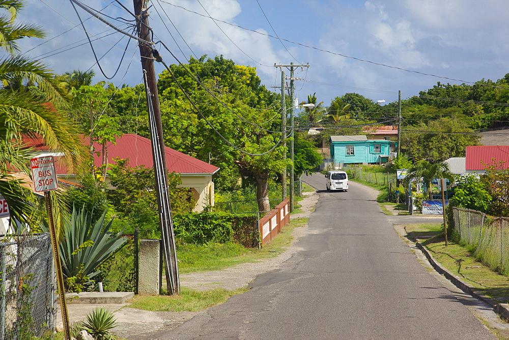 Road to Long Bay, St. Peter, Antigua, Leeward Islands, West Indies, Caribbean, Central America