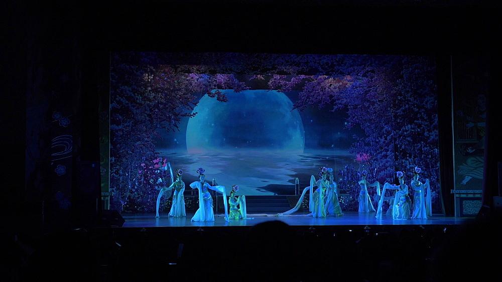 Tang Dynasty Show in Xi'an, Lianhu, Xi'an, Shaanxi, People's Republic of China, Asia