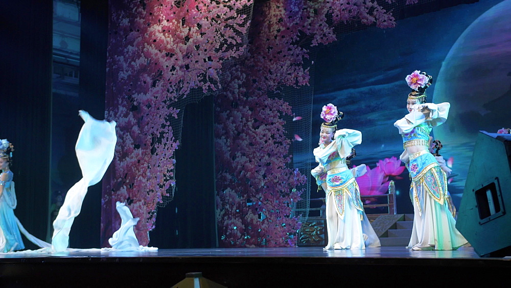 Still shot of Tang Dynasty Show in Xi?an, Lianhu, Xi'an, Shaanxi, People?s Republic of China, Asia